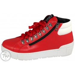 TW Zeus - Red Rubberized...
